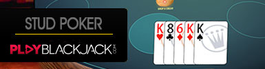Learn Online Stud Poker at PlayBlackjack.com