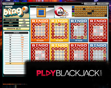 Play Online Video Bingo for Free at PlayBlackjack.com