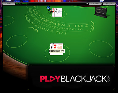 Play Online Single Hand Blackjack for Free at PlayBlackjack.com