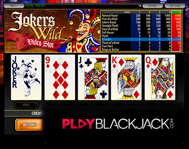 Play Online Joker's Wild Video Poker for Free at PlayBlackjack.com