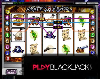 Pirates RevengeVideo Slots for Free at PlayBlackjack.com