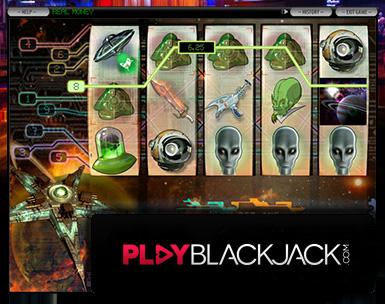 Retro Sci Fi Video Slots for Free at PlayBlackjack.com