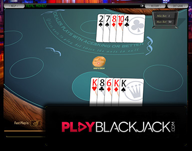 Play Online Caribbean Stud Poker for Free at PlayBlackjack.com