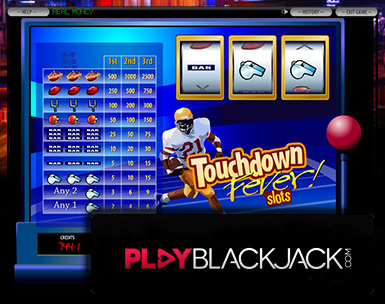 Touchdown Fever Video Slots for Free at PlayBlackjack.com