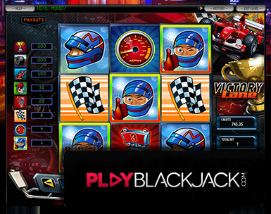 Victory Lane 3x3 Video Slots for Free at PlayBlackjack.com